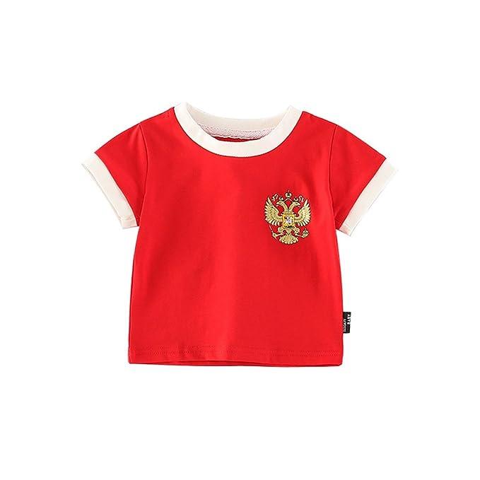 Amazon.com: Hada bebé bebé niños niñas World Cup Jersey de ...