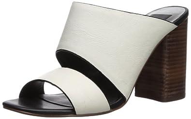 a75ba25e1f1e Dolce Vita Women s Rocko Heeled Sandal Off White Leather 6 Medium US