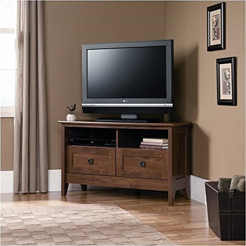 sauder-august-hill-corner-entertainment-stand-oiled-oak-finish