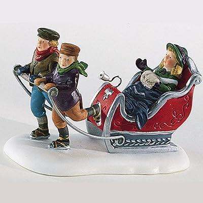 """Dept. 56 Heritage Village Collection """"Winter Sleighride"""" #5825-4"""