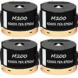 4 Toner I-AL-M200 Toner per Epson, Compatibile, EPSON WORKFORCE AL-M200DW, EPSON AL-M200DN, EPSON AL-MX200, EPSON AL-MX200DNF, EPSON AL-MX200DW, EPSON AL-MX200DWF, Durata 2.500 Pagine al 5% di Copertura. C13S050709.