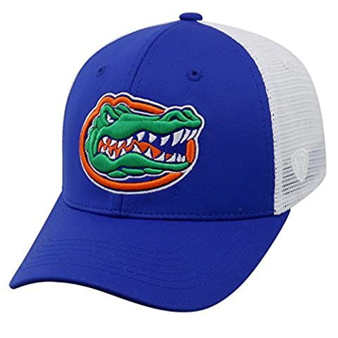 Top of the World NCAA-Ranger Trucker Mesh-Adjustable Snapback Hat Cap-Florida Gators-White - Florida Gators Baseball Cap