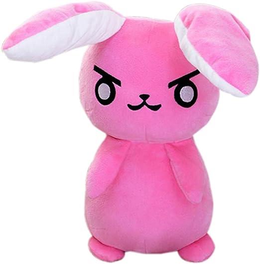 Game Overwatch OW D.Va Rabbit /& Logo Plush Toy Doll Soft Stuffed Pillow Cushion