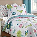 Reversible Comforter and Matching Sheet Set for All Seasons