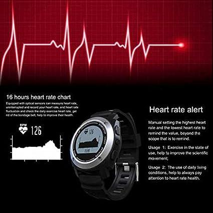 Qualité du sommeil moniteur montre intelligente, écran en verre résistant, DE SPORT en plein air montre connectée, enceinte Hi-Fi, contrôle de la qualité du ...