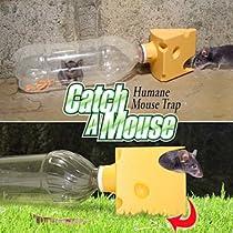 Green Bottle USA Humane Mouse Trap