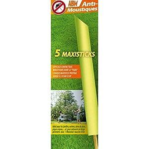 HBM Anti-Moustiques 001-RE-BAT001 5 Maxisticks Anti zanzare 2 spesavip
