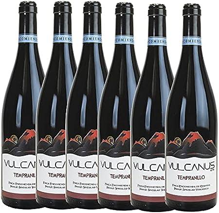 ENCOMIENDA DE CERVERA -Vulcanus Tempranillo Alpha, Vino Tinto (6x750 ml)