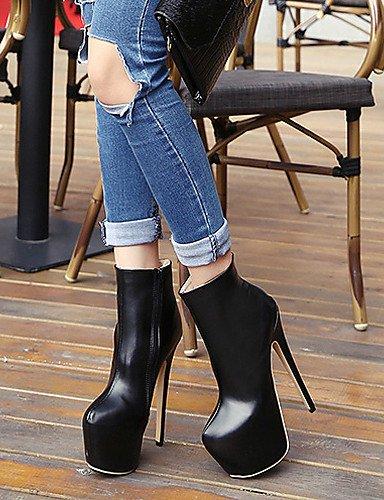 Bottes Talon Bottes Citior Bout Femme pour Stiletto Chaussons Rond Femme pour Chaussures nUxSBwxaqF