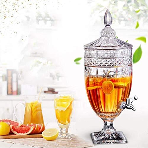 wellxo Multipurpose Glass Beverage Dispenser  1.8 L