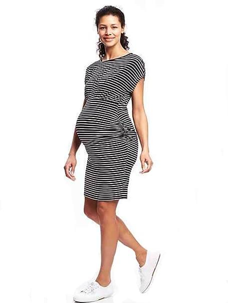 813162a5ec6 Belly Bliss Maternity Dolman-Sleeve Bodycon Dress (Large) at Amazon ...