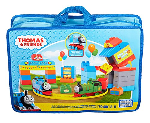Mega Bloks Thomas & Friends Happy Birthday Thomas! Building Set (Train Lego Thomas)