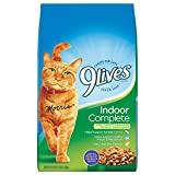 9 Lives Indoor Complete, 3.15-Pound Bags (Pack of 3)