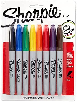 Sharpie - Punto fino, colores variados.: Amazon.es: Oficina y ...