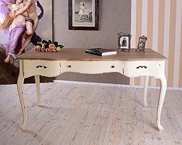 Riesiger Schreibtisch Im Französischen Landhausstil Vintage Büromöbel