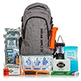 Sustain Supply Essential 2-Person Emergency Survival Bag/Kit, Be Equipped for 72 Hours of Disaster Preparedness with Premium Basic Supplies for 2 People