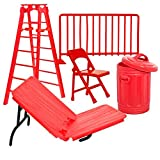 Wrestling Figure Gear Special Deal #1: Solid Red Edition For WWE Wrestling Figures