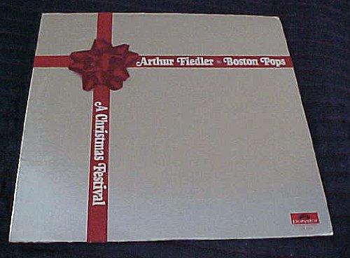 A Christmas Festival by Arthur Fiedler & Boston Pops Orchestra Record Vinyl Album (Album Boston Christmas Pops The)