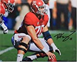 Ryan Kelly Alabama Colts Autographed NCAA Football 8x10 Signed Photo 16H