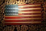 Rustic American Baseball Bat Flag made with 37 inch bats