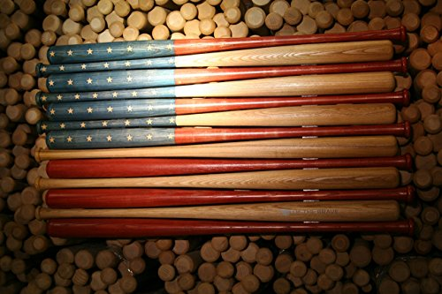 Rustic American Baseball Bat Flag made with 37 inch bats by Banner Bats