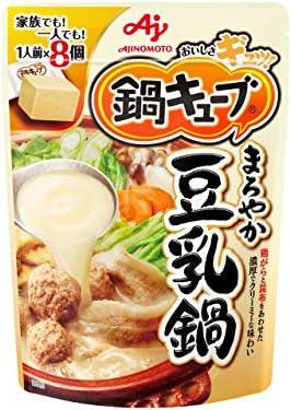 [スポンサー プロダクト]味の素 鍋キューブ まろやか豆乳鍋 77g×3個