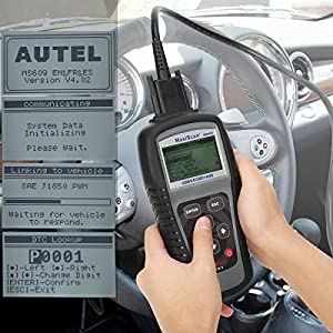 Autel MS609 Maxi Scan Scanner Code Reader Including Full OBD2 Functions Abs Diagnostics DTC Definitions Advanced Version of MS509 and AL519