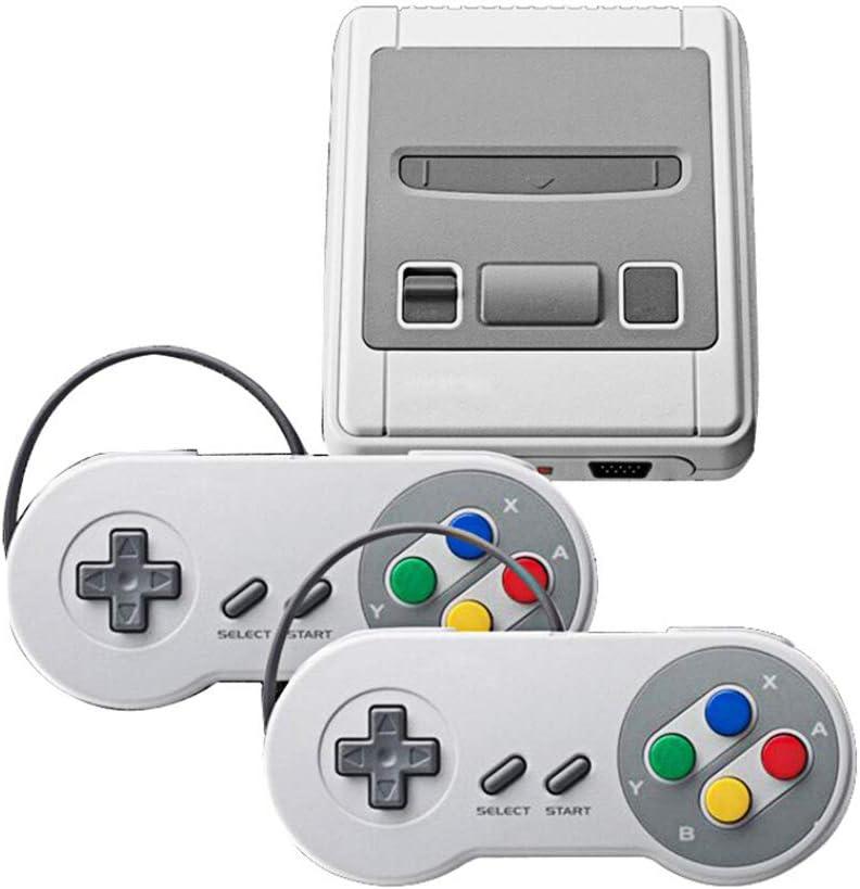 Family Game classic Mini Consola 2 Controllers con 621 Videojuego de TV Salida HDMI