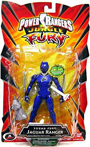 Power Rangers Jungle Sound Fury Jaguar Ranger -Blue]()