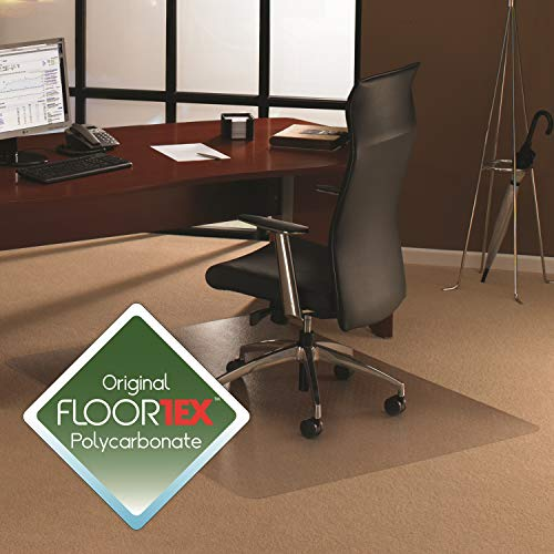 Cleartex XXL General Office Mat, Rectangular, Strong Polycarbonate, for Carpets, 60