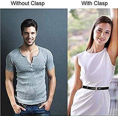 Nifogo Ceinture /élastique Invisible Ceinture extensible pour les femmes//hommes Plus de Sant/é pour la Ceinture /élastique sans Boucle Invisible pour Toute Personne de Taille