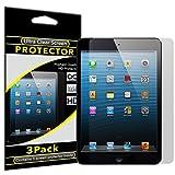 IPAD MINI SCREEN PROTECTOR, KUSTOM KABLES iPad Mini Screen Protector Anti-Glare, Anti-Scratch, Anti-Fingerprint HD Clear Film (Invisible) [3 PACK]