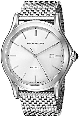 Emporio-Armani-Swiss-Made-Mens-ARS3006-Analog-Display-Swiss-Quartz-Silver-Watch