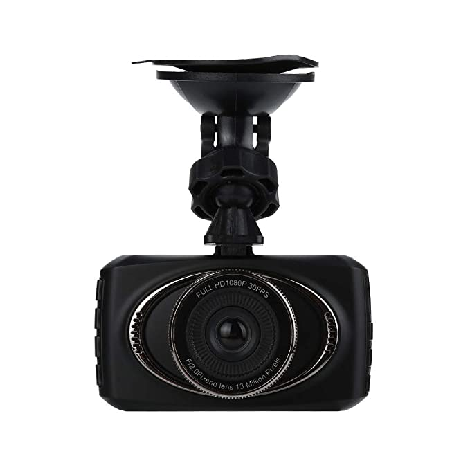 Harpily Camara Coche DVR FHD 720P Grabadora de Video Full HD 140°Ángulo con Visión Nocturna: Amazon.es: Electrónica