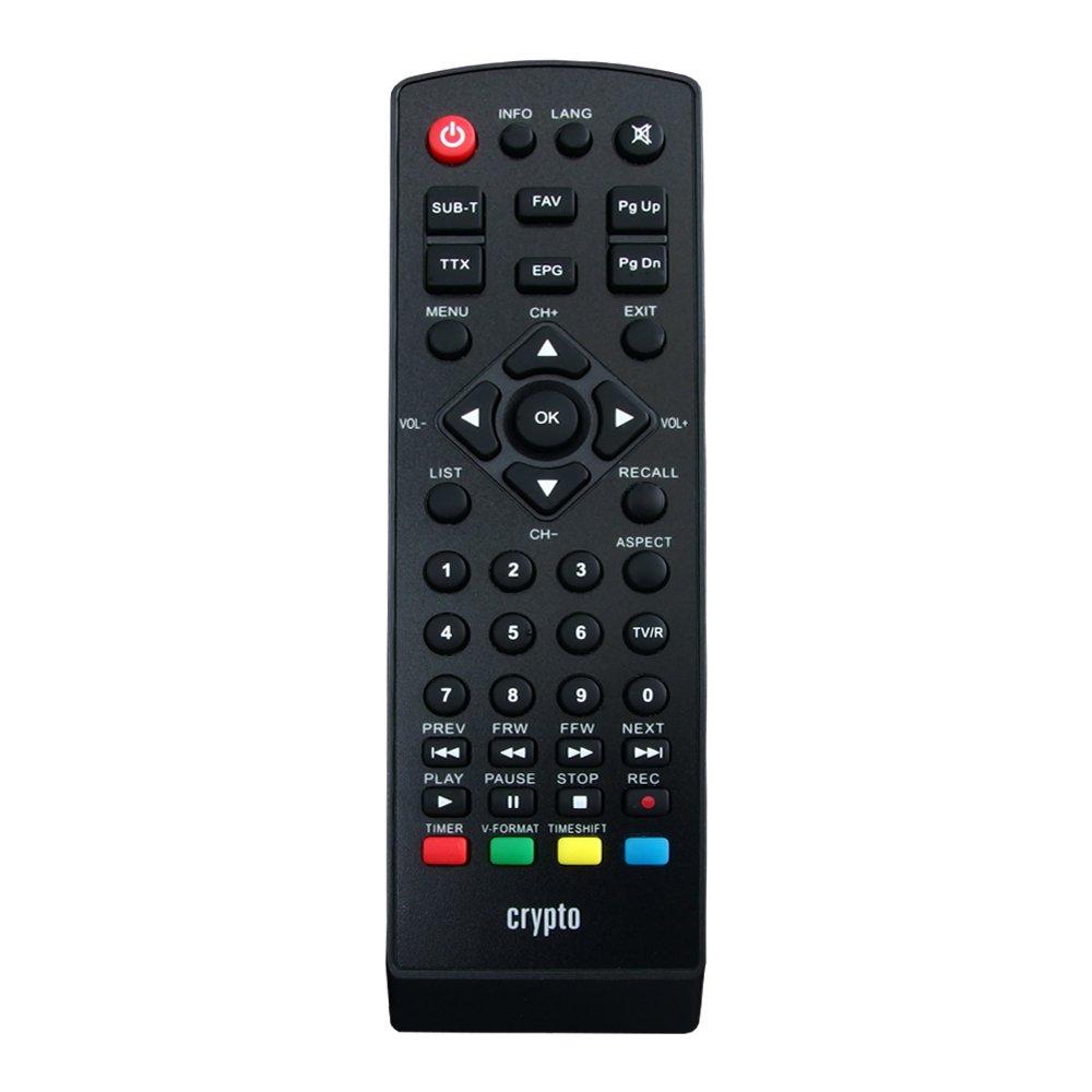 Crypto ReDi S100PC ricevitore satellitare DVB S2 per trasmettitori pubblici (PVR ready, DVBS2, Full HD, HDMI, Dolby Digital, SCART, USB 2.0, LNB IN / OUT, coassiale, Mediaplayer, remoto) e Cavo coassiale 1,5M