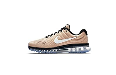 buy popular 50489 a14e2 Nike Men s Air Max 2017 Beige Mesh Running Shoes, Beige (Bio Beige Black