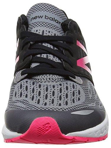 New Balance Mädchen Fresh Foam Zante V2 Laufschuhe Black/Pink