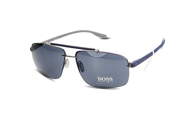 Amazon.com: Hugo Boss anteojos de sol BOSS 0608/S 6 kzku ...
