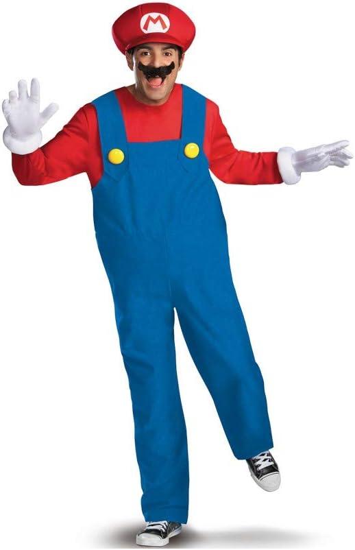 Disfraz MarioDeluxe Adulto - L: Amazon.es: Juguetes y juegos