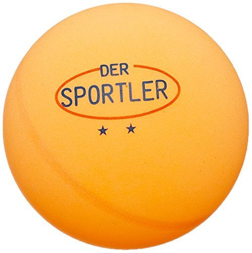 Der Sportler 72 TT-Bälle Tischtennisbälle 40mm Gute Trainingsqual. ** orange (Versand aus D) Der Sportler GmbH