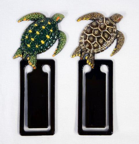 Wholesale Pack Handpainted Assorted Sea Turtle Bookmark (Set Of 12)