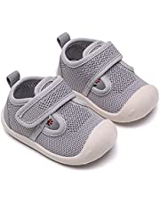Baby First-Walking Shoes Boys Girls,Girls Trainers Toddler Infant,Boys Baby Shoes,1-4 Years Kid Shoes,Baby Outdoor Shoes,Toddler Sneakers,Non Slip Soft Sole Breathable Lightweight Outdoor Sneaker