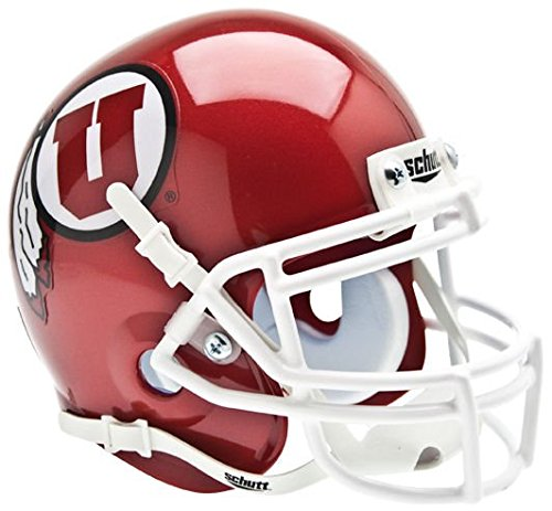 Schutt NCAA Utah Utes Collectible Mini Helmet