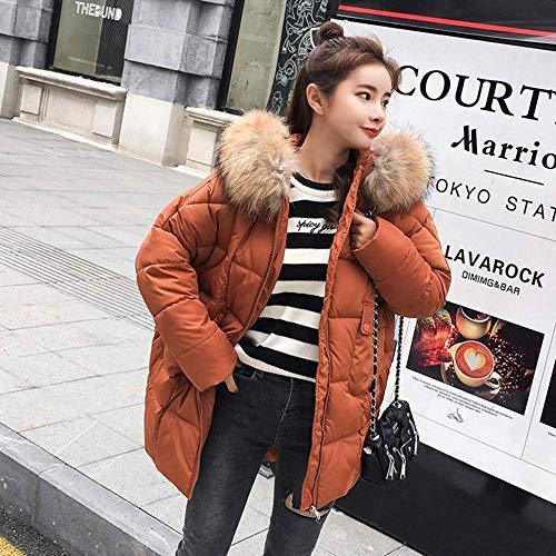 Manteau couleur Oreille Capuche Womens Panda Fuxitoggo Avec Jaune À Taille Hiver Manteau Rouge Chaud Cute L Capuche Bear wqO4z