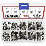 Hilitchi 250-Piece 10 Values NPN PNP Power
