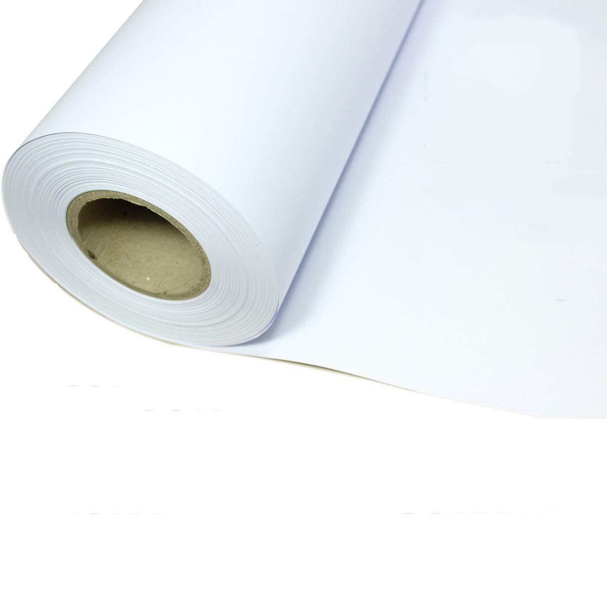 MILAYA JI Bin Shop A0A1A2 Carrete De Ingeniería Papel De Copia Dibujo Blanco CAD Dibujo Papel 1270/1070/880/620 / 450mm  50m ++ (Diseño : A1)
