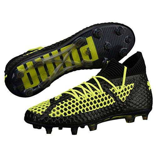 Bota de fútbol Puma Future 18.1 Netfit Limited Edition FG Puma Black-Puma Black-Fizzy Yellow Puma Black-Puma Black-Fizzy Yellow