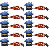 #1: 10 pcs SG90 9G Micro Servo Motor Kit for RC Robot Arm Helicopter Airplane Remote Control