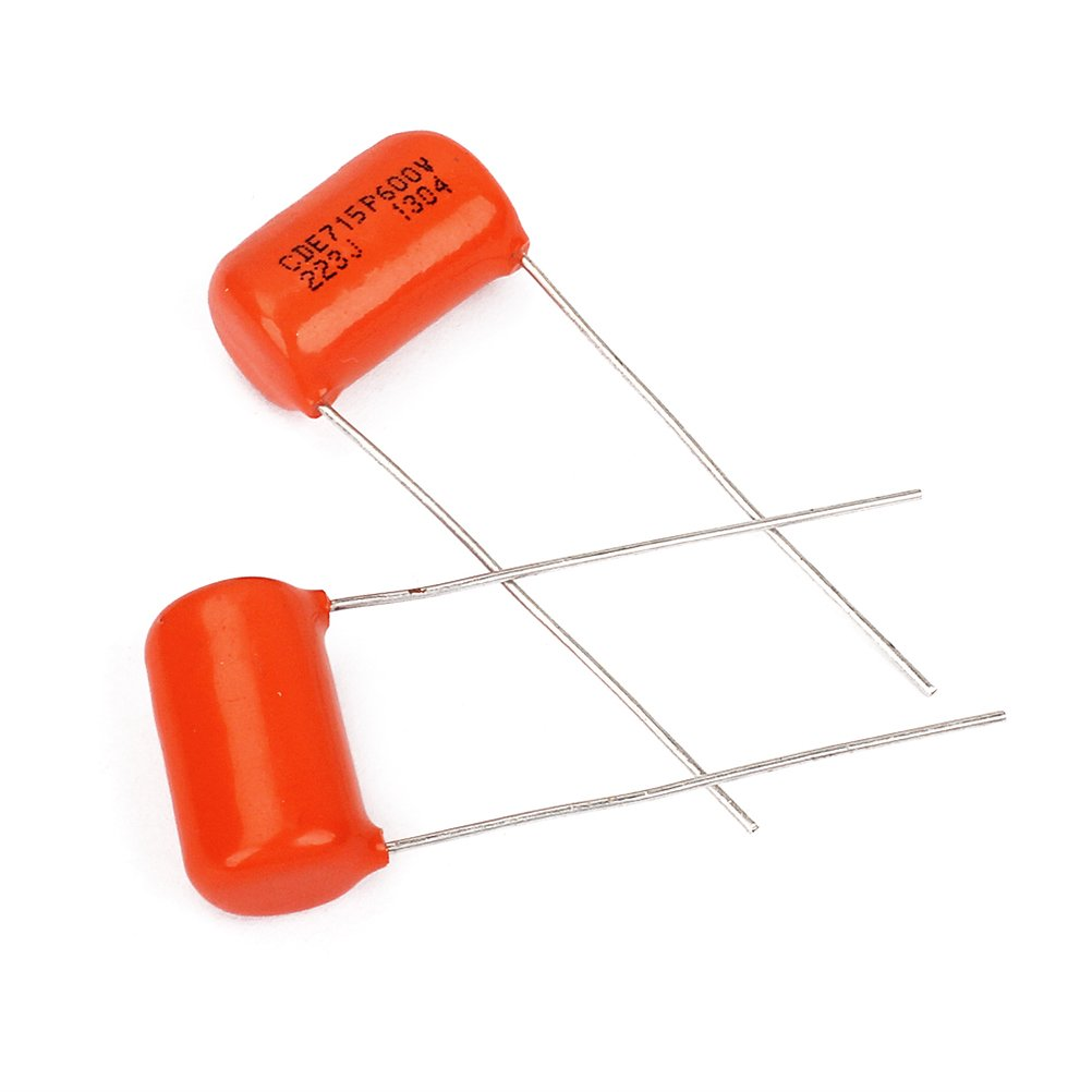 Ultnice Sprague Red Drop 715P Lot de 10/Condensateurs /à film 600/V pour tonalit/é de guitare ou basse