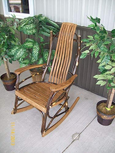 A L FURNITURE CO. 7- Slat Hickory Rocking Chair